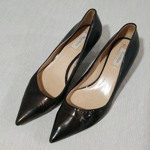 MaxMara black kitten heels